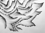 Tranh vẽ tuyệt đẹp từ… 10 đầu ngón tay